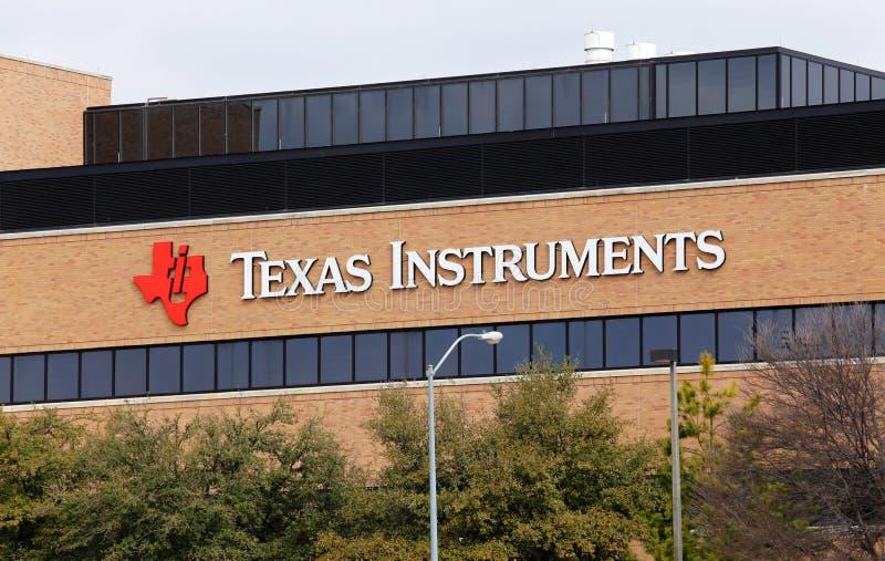 Texas Instruments światu kwatery główne obraz royalty free