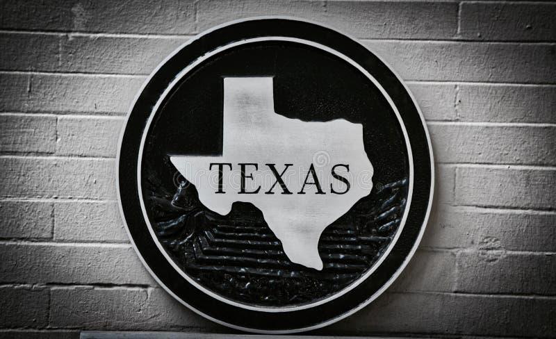 Texas The Lone Star State fotografia stock