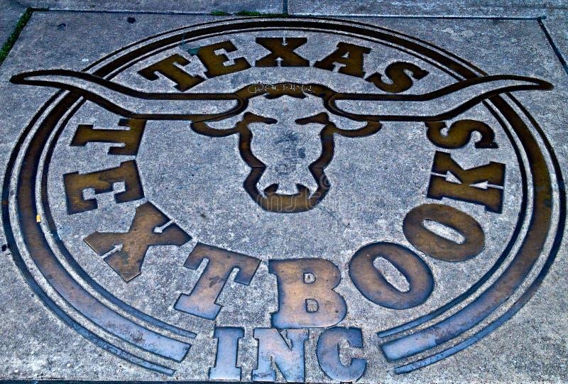 Texas longhornssymbol arkivbild