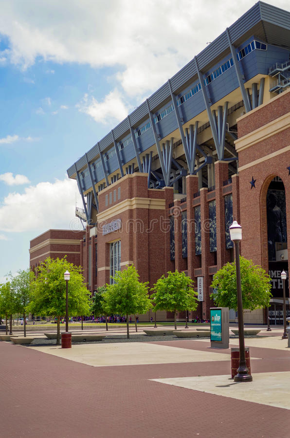 Texas A and M Kyle Field Football Stadium royalty free stock photo