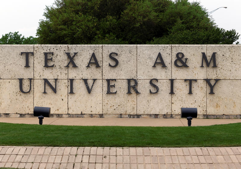 Texas A&M University stock images