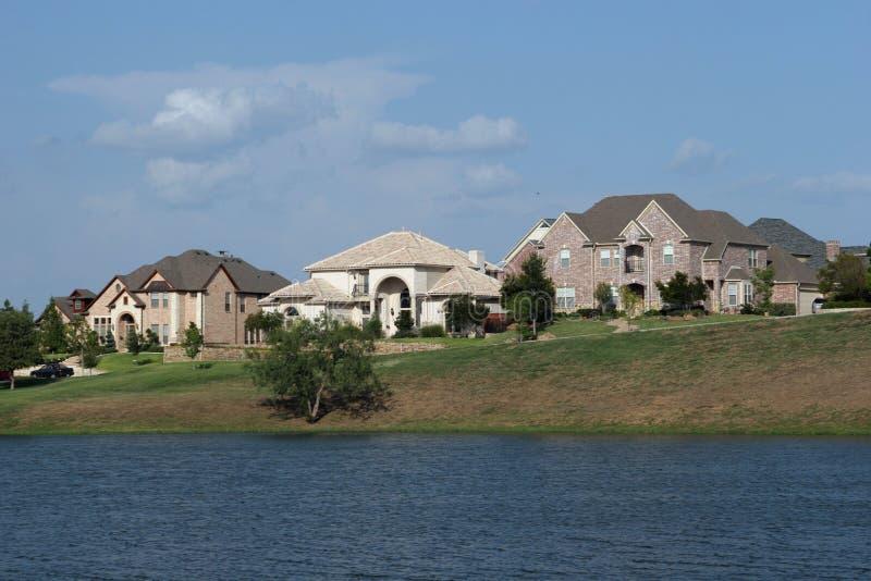 Texas neighborhood stock photo