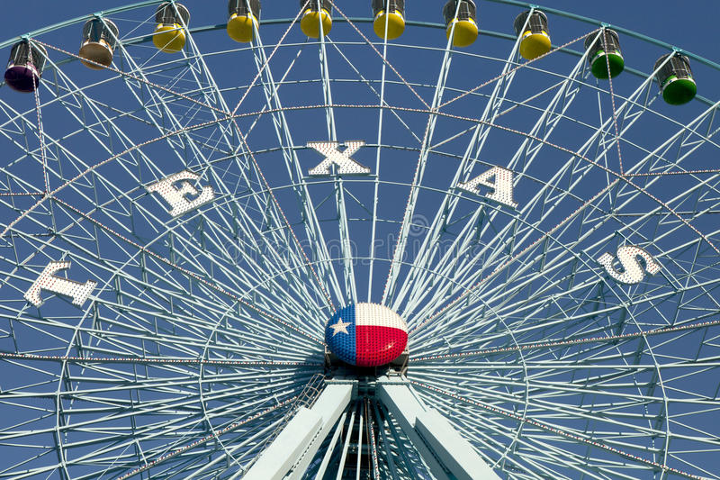 Download Texas pariserhjul arkivfoto. Bild av ganska, metall, dallas - 27598894