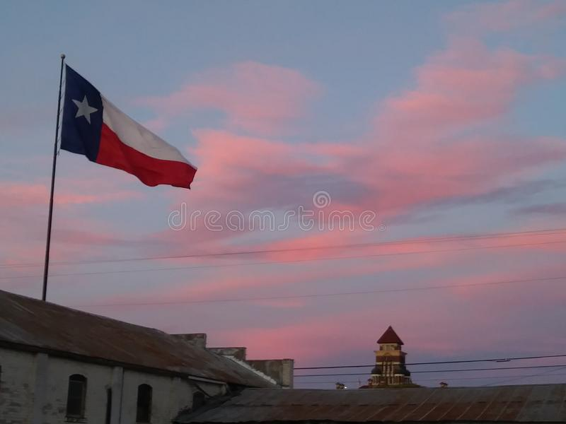 Texas Pink Clouds photographie stock