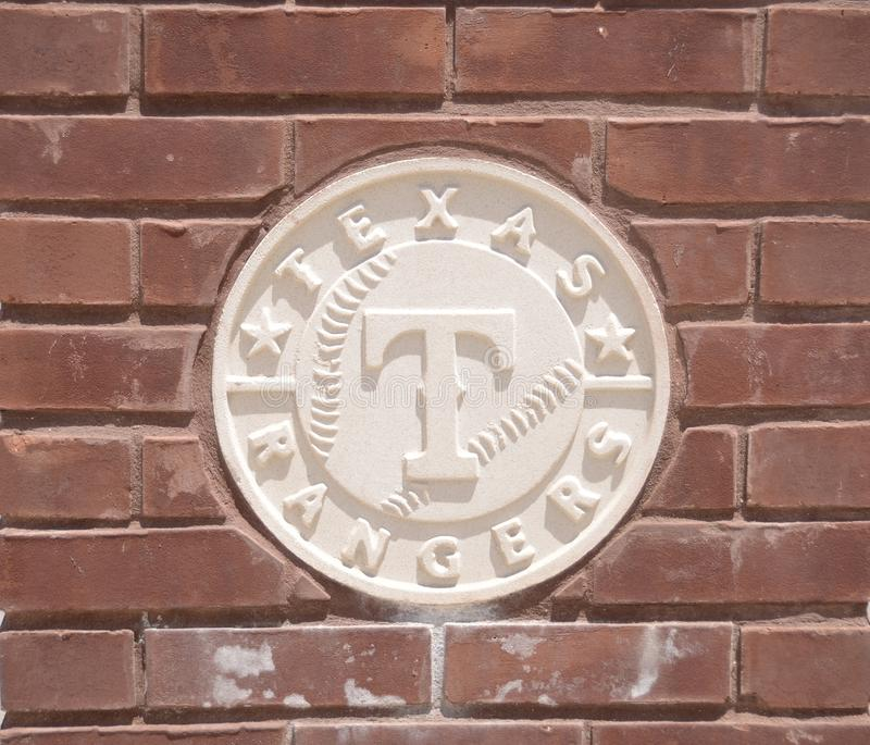 Texas Rangers Baseball Club royalty-vrije stock afbeelding