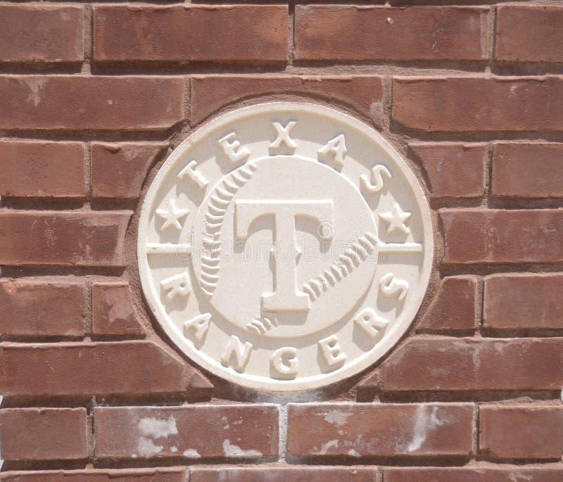 Texas Rangers baseballa klub obraz royalty free
