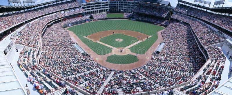 Texas Rangers contre l'Orioles de Baltimore image libre de droits