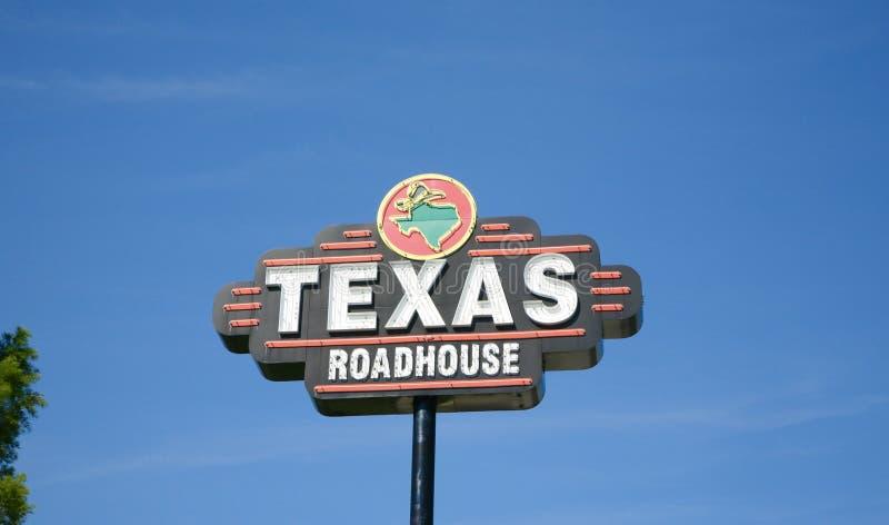 Texas Roadhouse Steakhouse imagens de stock