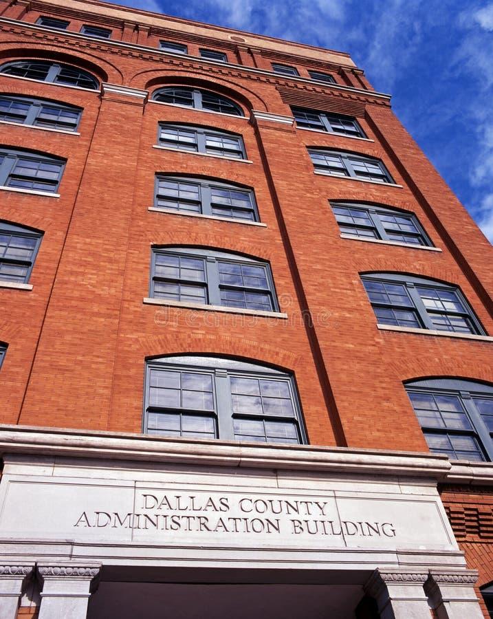 Texas School Book Depository, Dallas. foto de stock