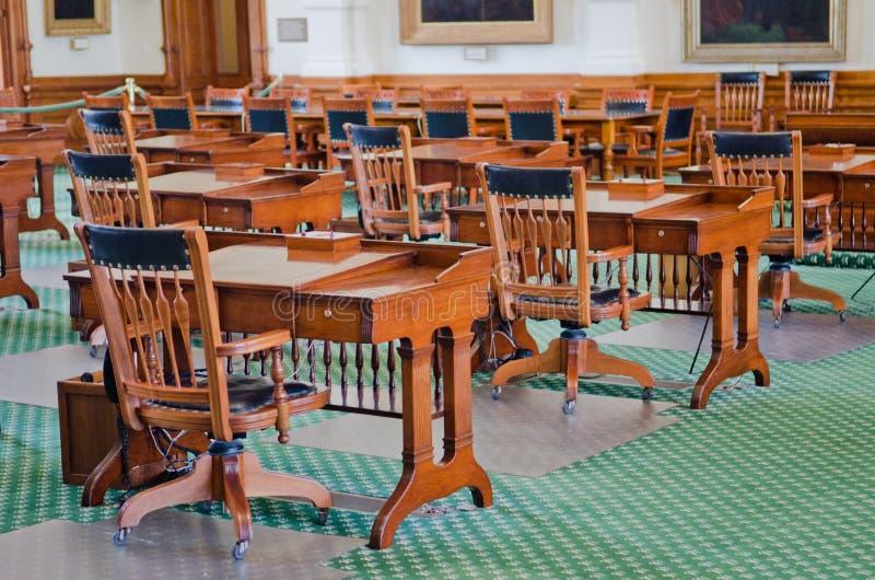 Texas Senate Chamber photos libres de droits