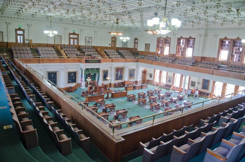 Texas Senate Chamber photographie stock