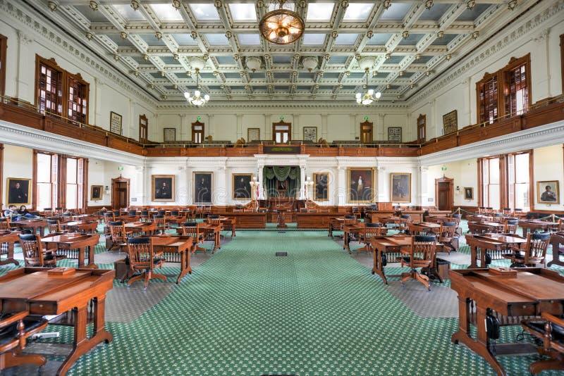 Texas Senate Chamber, Austin Texas photo stock