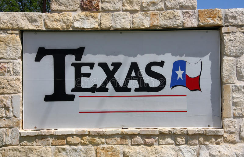 TEXAS sign royalty free stock images
