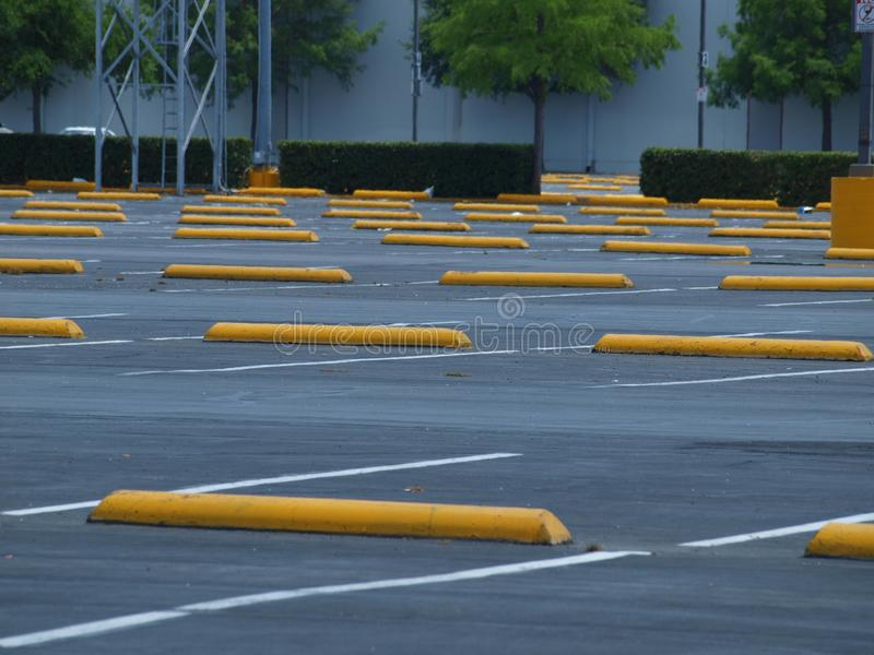 Texas Size Valet Parking Lot image stock