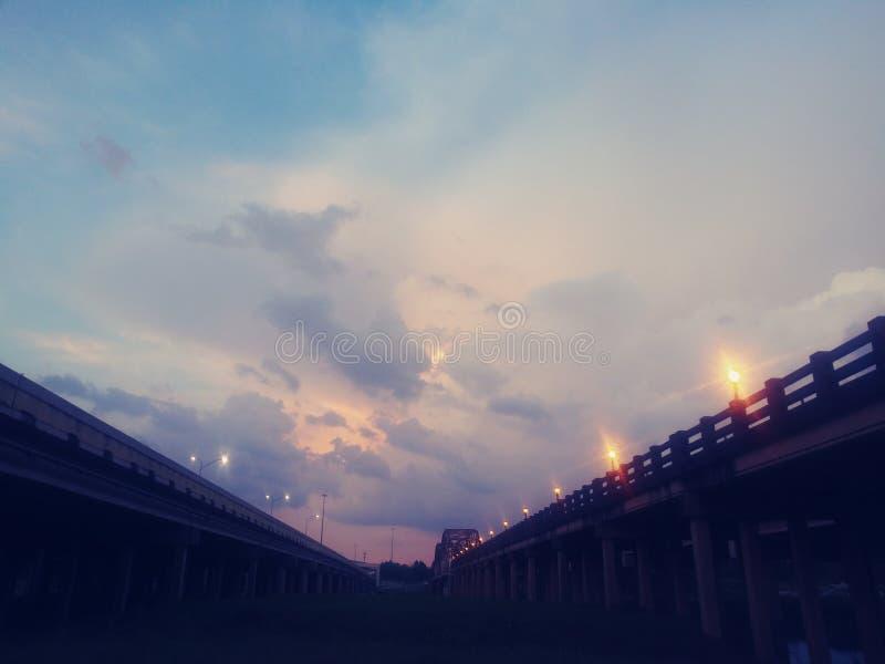 Texas Skies stock photo
