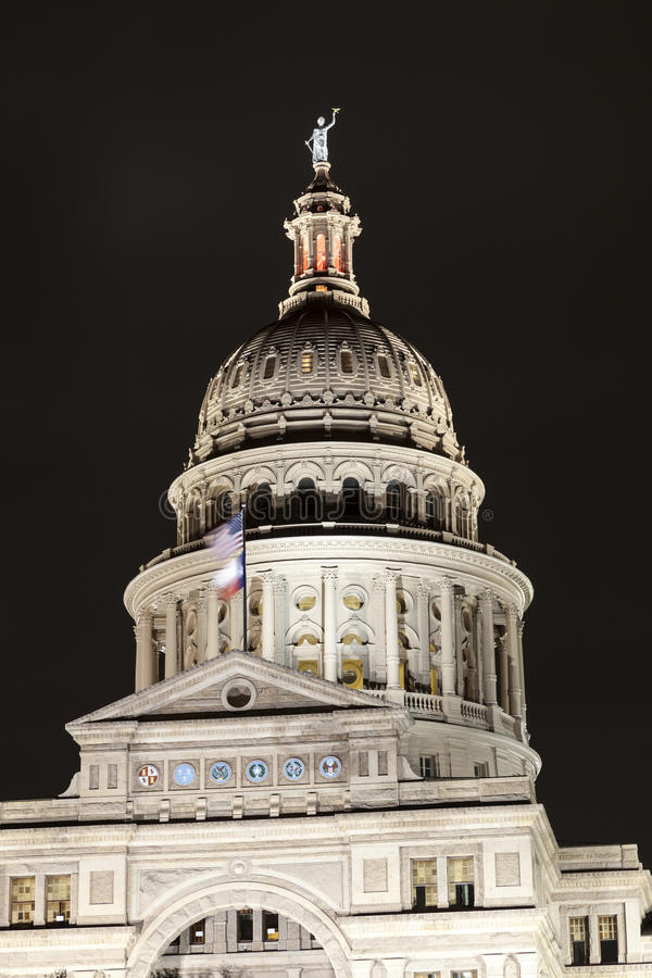 Texas State Capitol in Austin stock photography