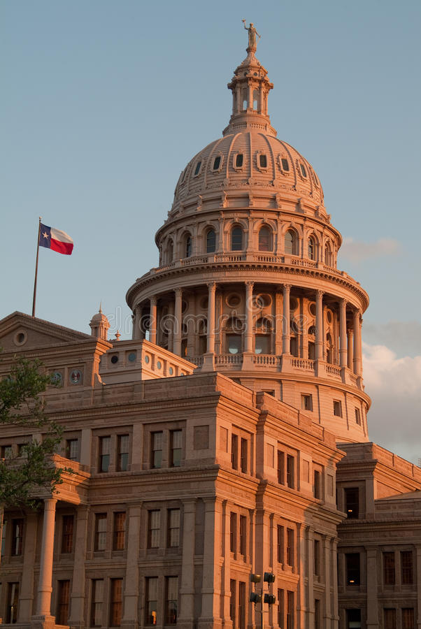 Texas State Capitol Building royalty free stock photography