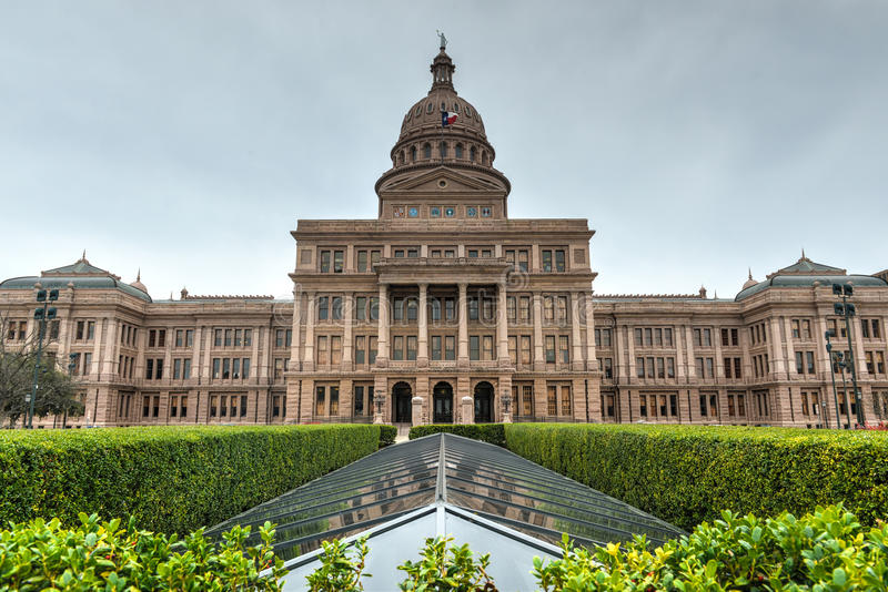 Texas State Capitol Building arkivfoton