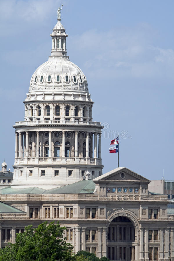 Texas State Capitol Building stock image