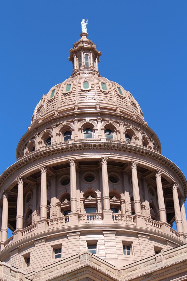 Texas State Capitol Building Dome stock foto's