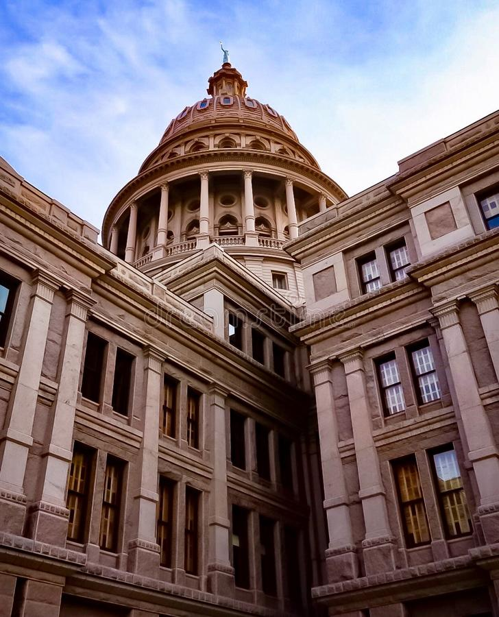 Texas State Capitol Building em Austin Texas fotos de stock