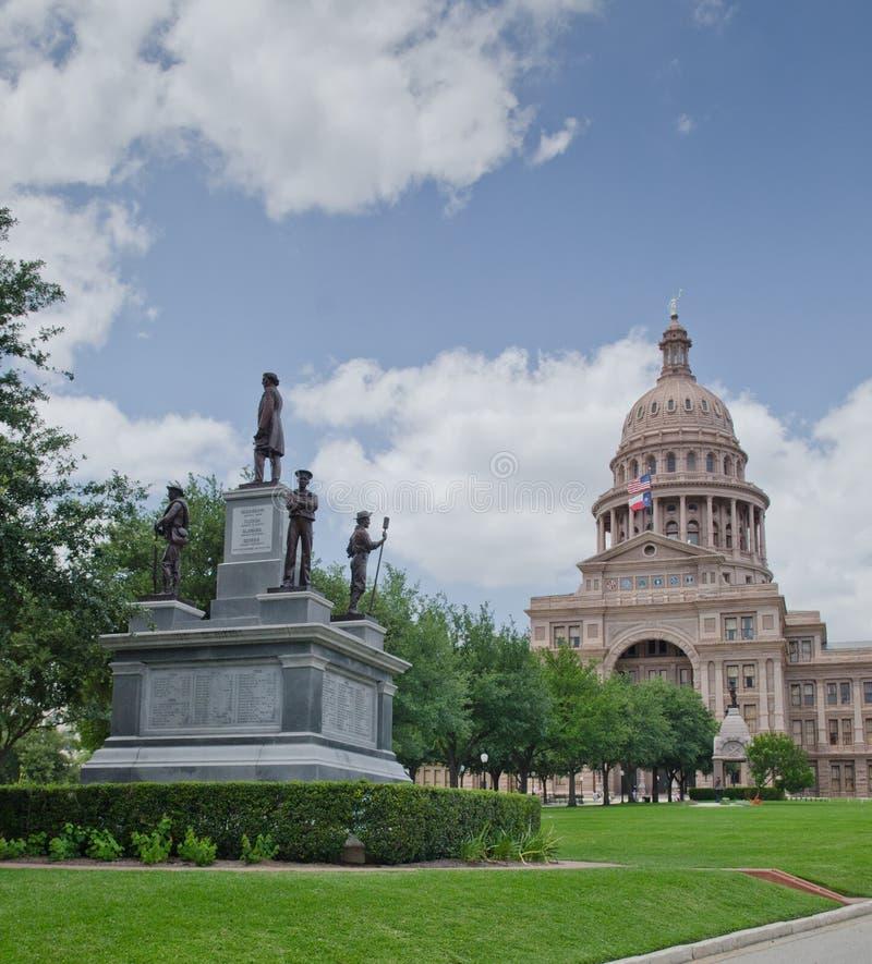 Texas State Capitol-de bouw stock afbeelding