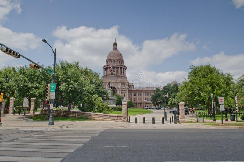 Texas State Capitol-de bouw stock fotografie