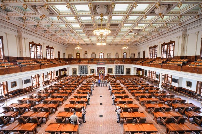 Texas State Capitol House dos representantes, Austin, Texas imagens de stock