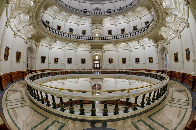 Texas State Capitol Rotunda stock images