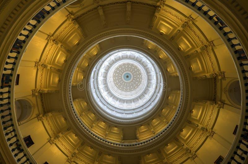 Texas State Capitol Rotunda, Austin, Texas stock foto