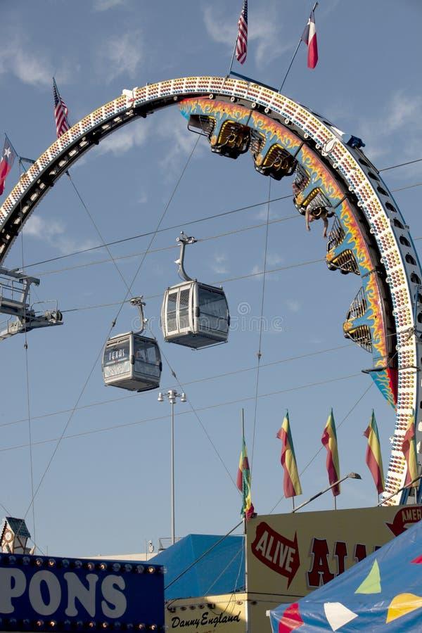 Texas State Fair em Dallas. imagem de stock royalty free