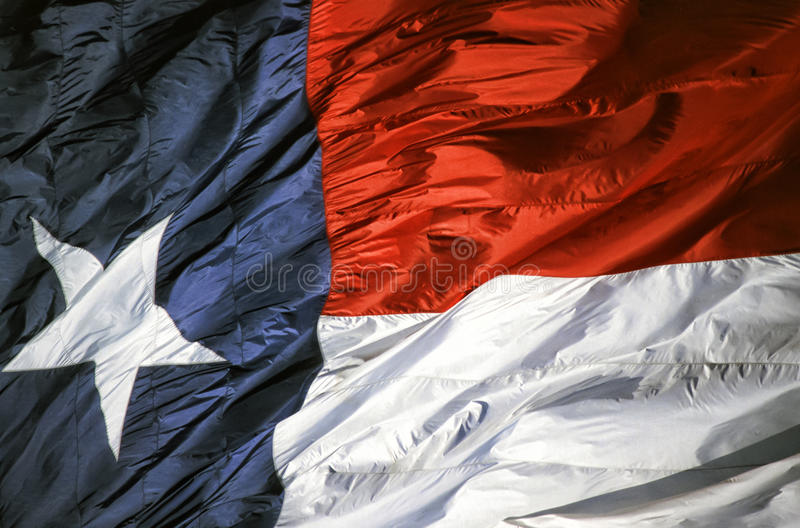 Texas State Flag royalty free stock photos