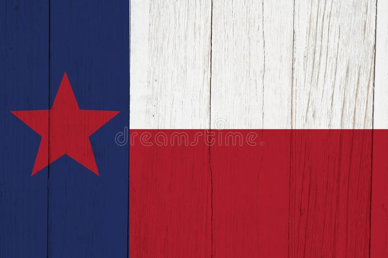 Texas state flag red white and blue with star stock images