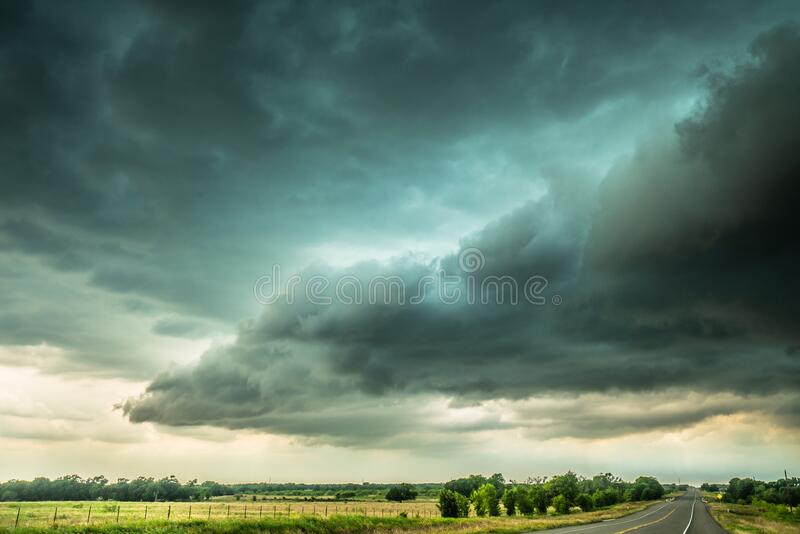 Texas Storm Clouds royalty free stock photography