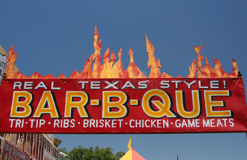 Texas-Style Barbecue stock photography