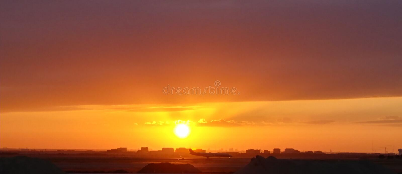 Texas Sunrise royalty-vrije stock foto