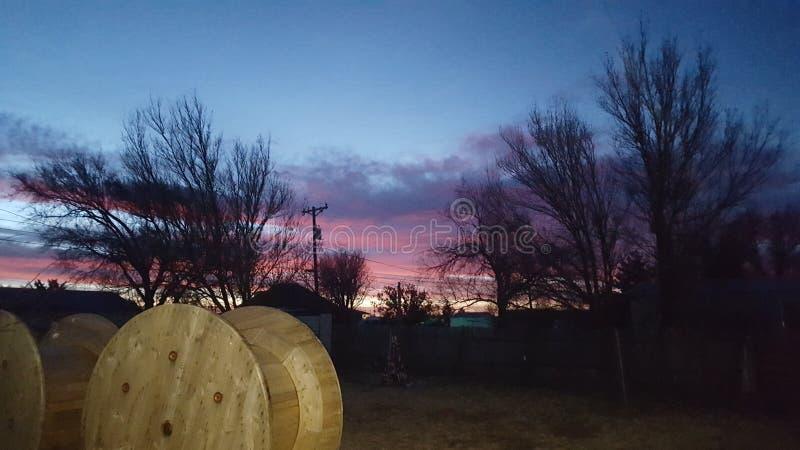 Texas Sunset stockfotografie