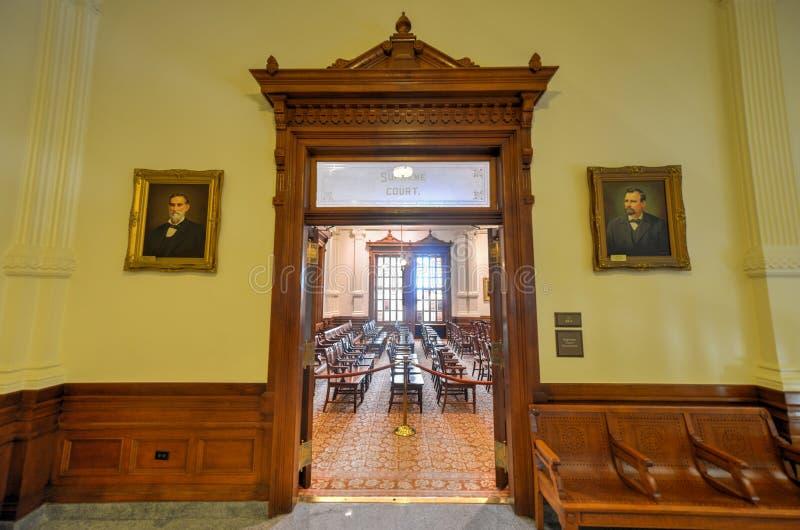 Texas Supreme Court imagem de stock