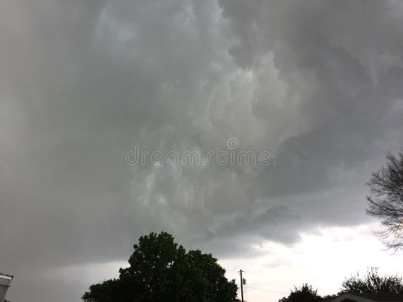 Texas Thunderstorm photographie stock libre de droits