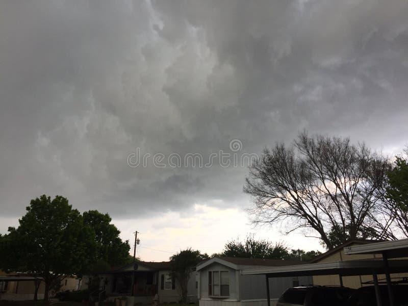 Texas Thunderstorm photo stock