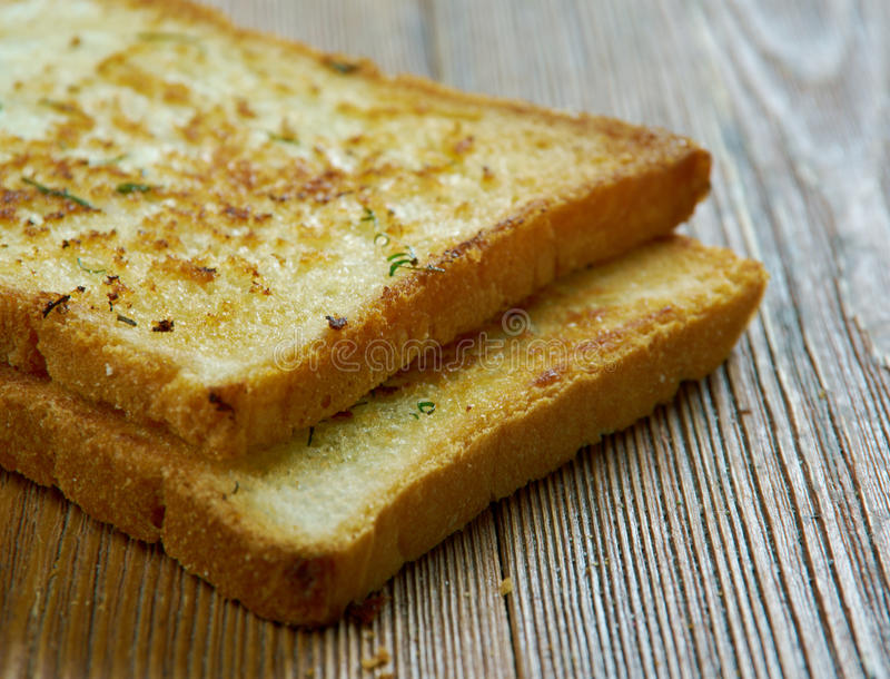 Texas Toast fotografia stock libera da diritti
