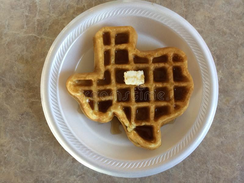 Texas Waffle imagens de stock royalty free