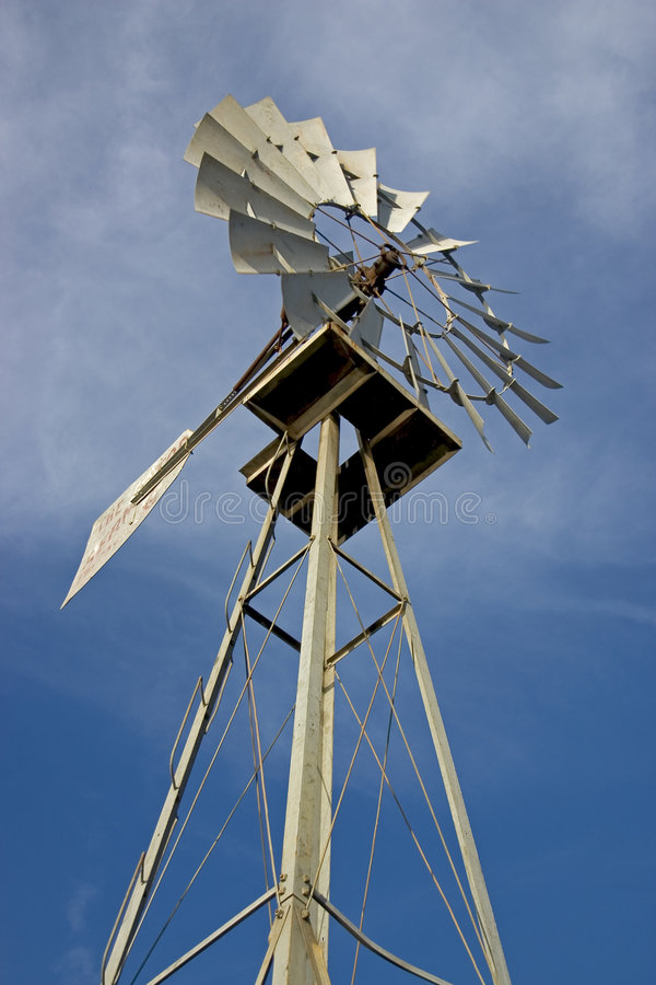 Texas-Windmühle 3 Lizenzfreie Stockfotografie