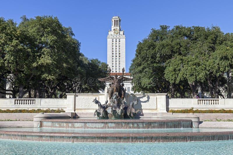 Texasuniversitetet på Austin royaltyfri bild