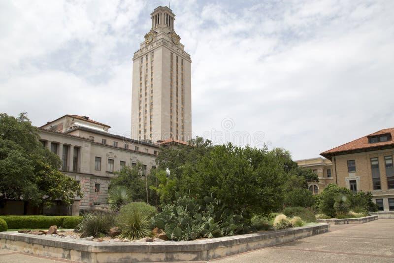 Texasuniversitetet på den Austin universitetsområdeinre fotografering för bildbyråer