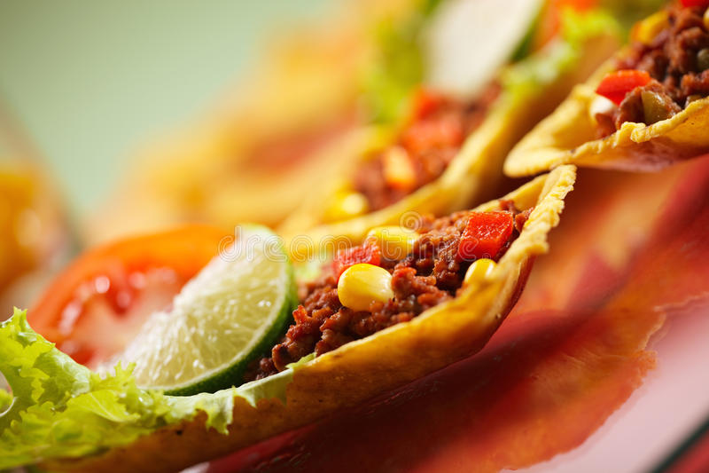 Texmex Tortillas lizenzfreie stockfotografie