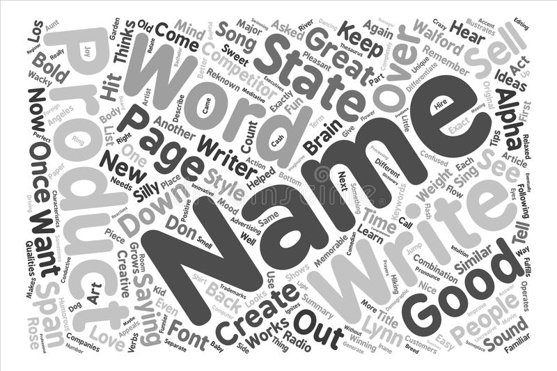 Text Background Word Cloud Concept stock illustration