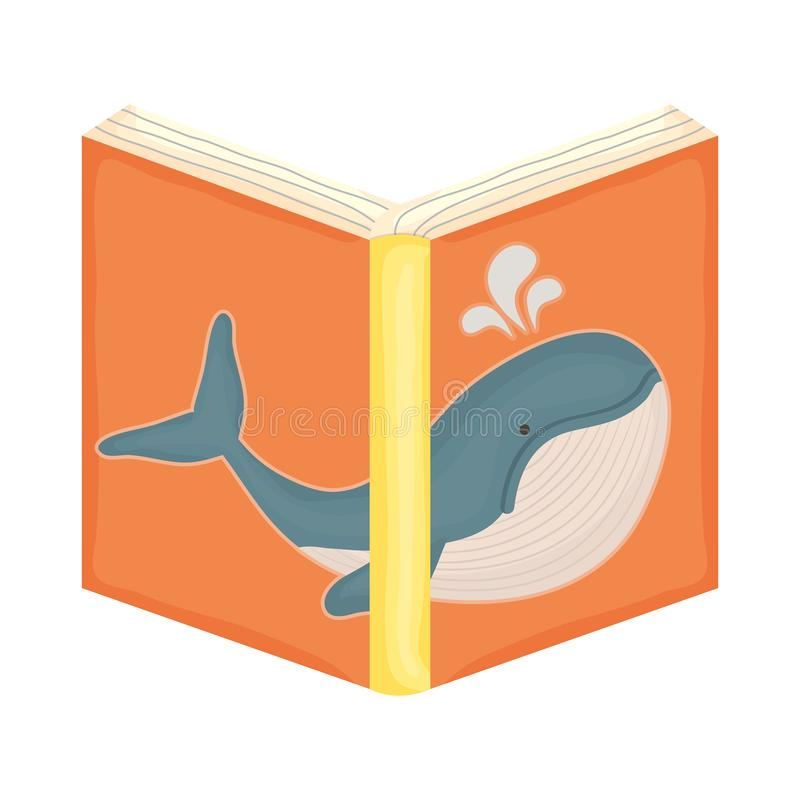 Text book open icon vector illustration