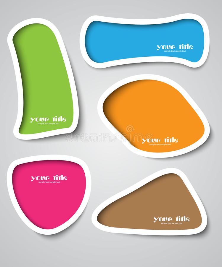 Text box design vector illustration
