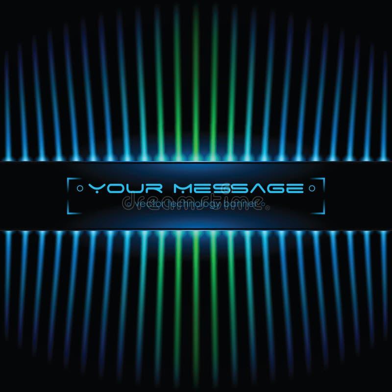 text för bakgrundsavståndsteknologi